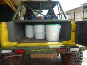 Bagage waterdicht verpakt
